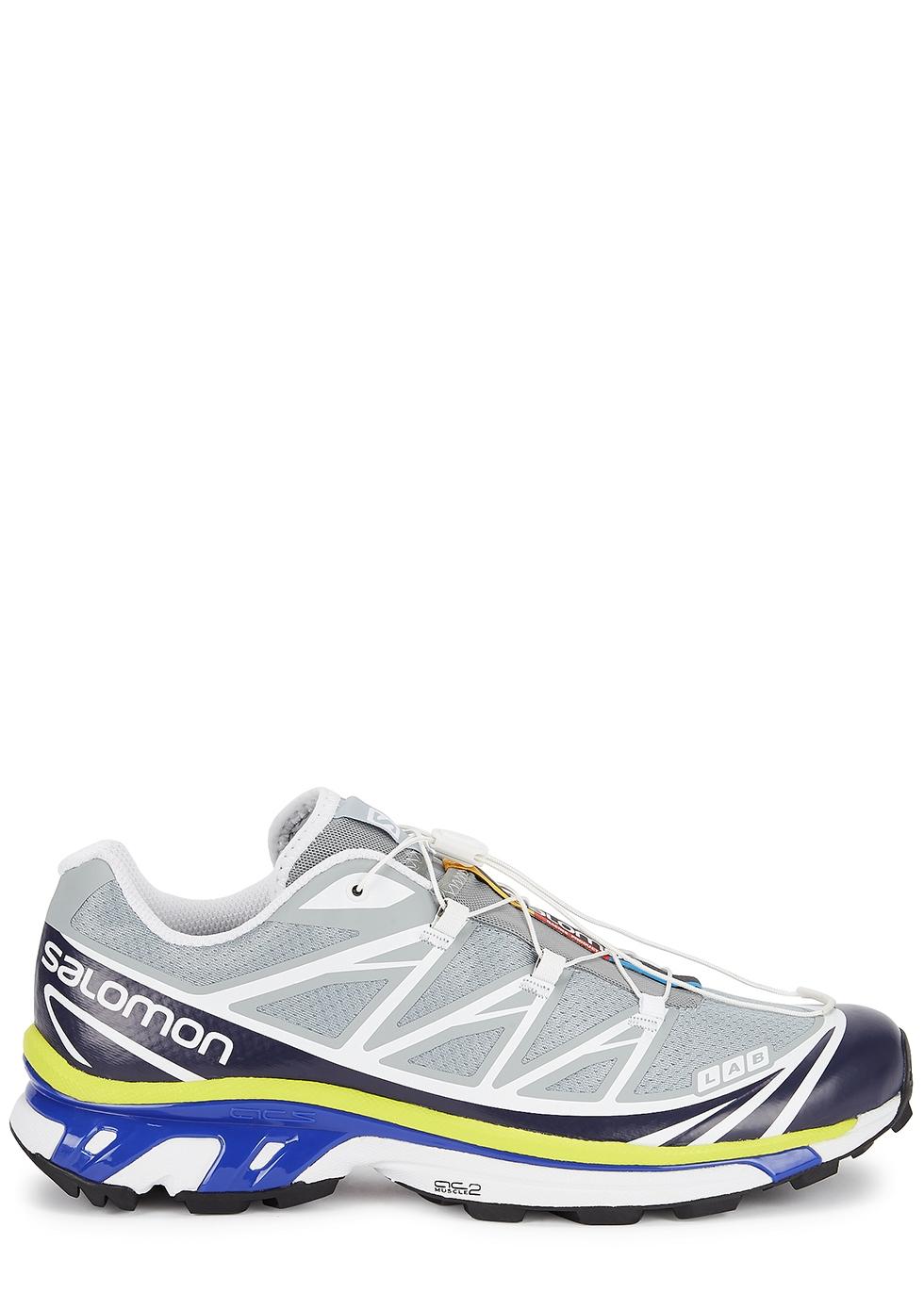 XT-6 grey mesh sneakers
