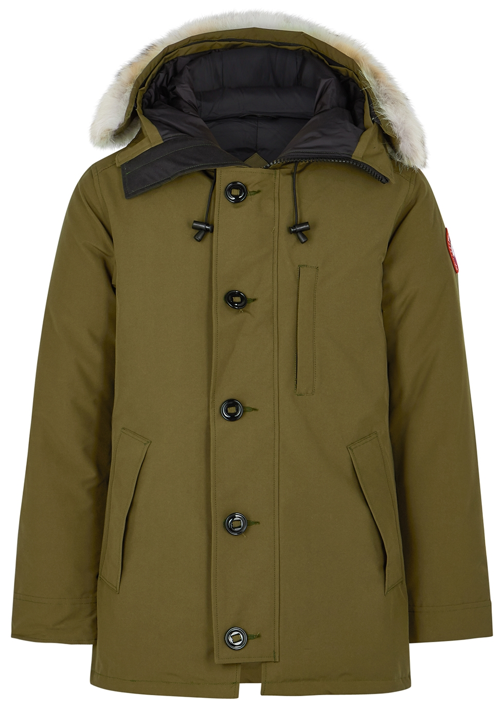 Chateau Fusion Fit army green Arctic-Tech parka