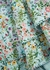 Crawford floral-print embroidered cotton mini dress - Alice + Olivia