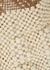 Scallop beaded shoulder bag - Aranaz