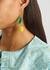 Limón beaded drop earrings - Gimaguas