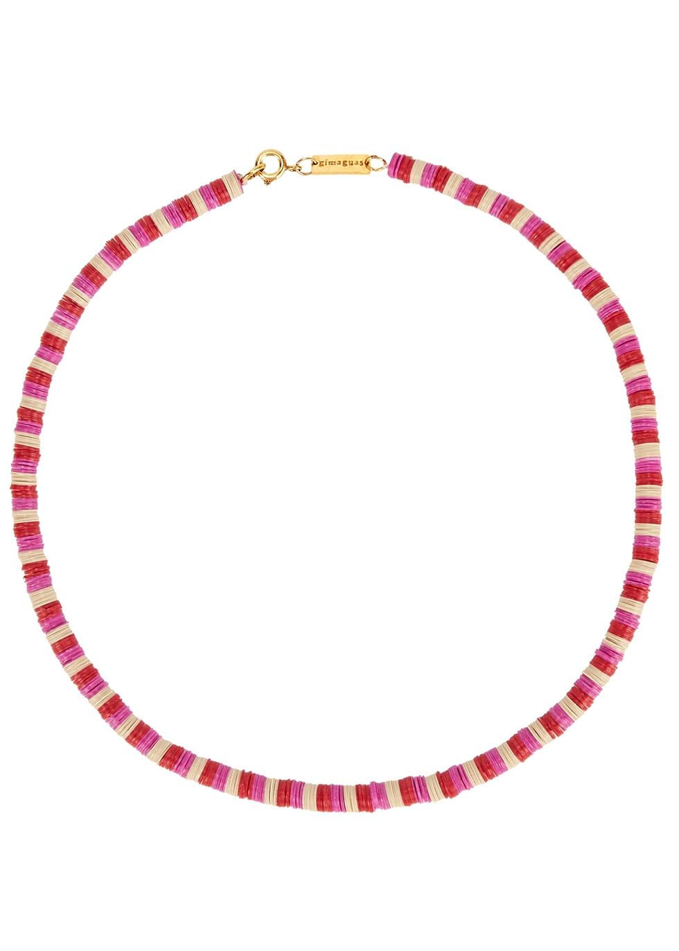 Pukas pink necklace