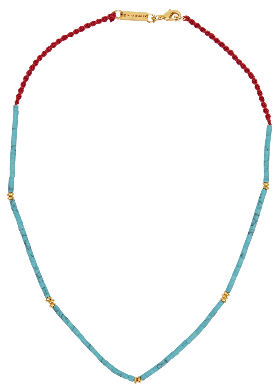 Little Turquoise beaded necklace
