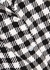 Monochrome gingham linen co-ord set - Holiday The Label