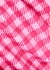Vacation pink gingham swimsuit - Holiday The Label