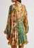 Estelle printed silk-chiffon mini dress - Zimmermann
