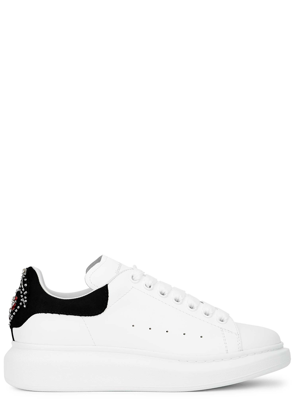 Larry white leather sneakers