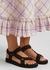 Trekky black leather sandals - Arizona Love