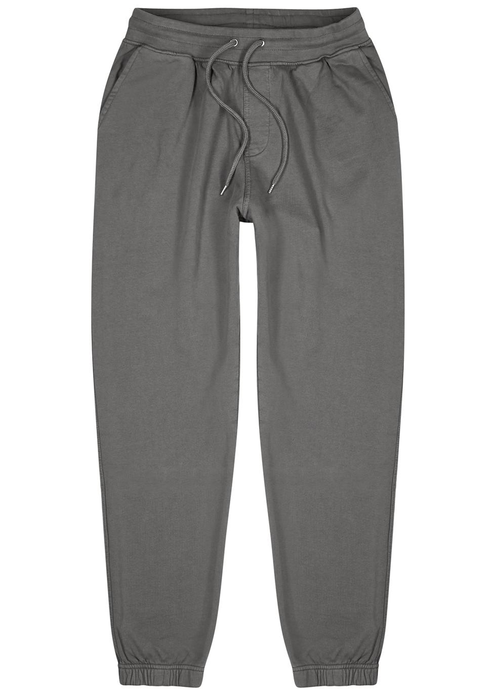 Grey cotton sweatpants