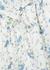 Marita floral-print linen midi dress - Faithfull The Brand