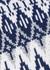 Fair Isle roll-neck wool-blend collar - Paco Rabanne