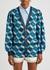 GG-intarsia metallic-weave cardigan - Gucci