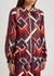 Printed silk jacket - Gucci