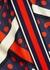 Printed silk skirt - Gucci