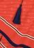 Red GG-print silk crepe de chine tunic - Gucci