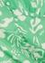 Aspen green printed dress - RIXO