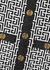 Monogrammed metallic-weave mini dress - Balmain