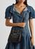 The Short Story black crocodile-effect top handle bag - Alexander McQueen