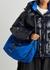 The Bundle medium blue shoulder bag - Alexander McQueen