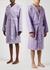 Unisex hooded terry cotton robe - Tekla