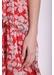 Maxi mia chiffon dress in red floral print - Traffic People