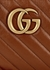 GG Marmont small brown leather cross-body bag - Gucci