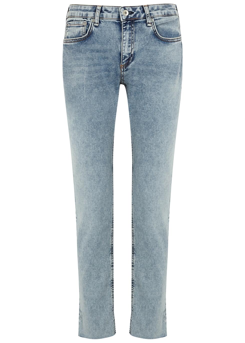 Dre Loopback blue slim boyfriend jeans