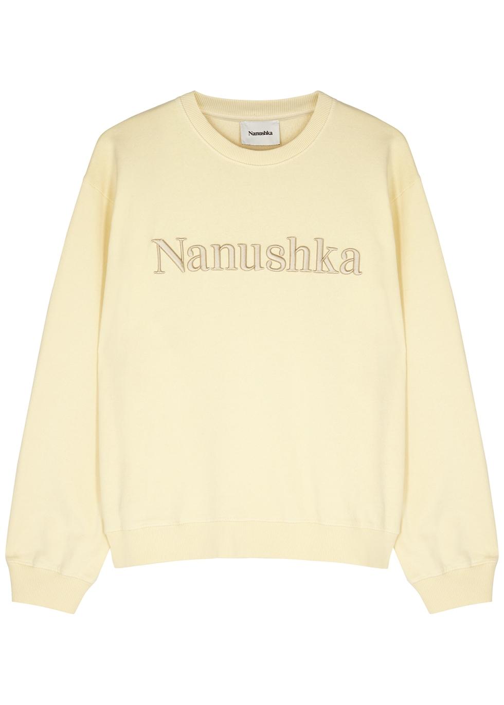 Remy cream cotton sweatshirt