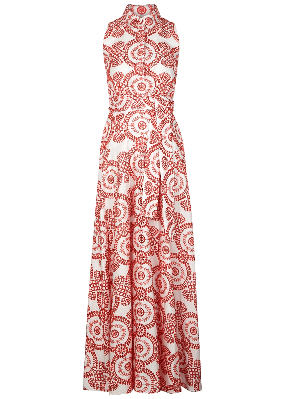 Paloma eyelet-embroidered maxi dress