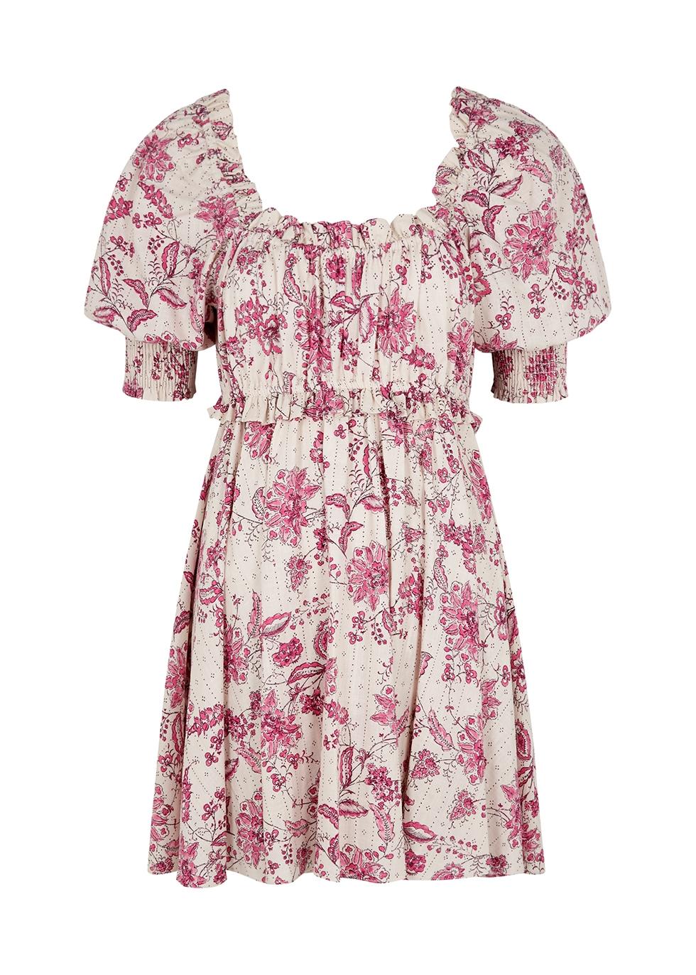 Ara floral-print mini dress