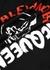 Black logo cotton top - Alexander McQueen
