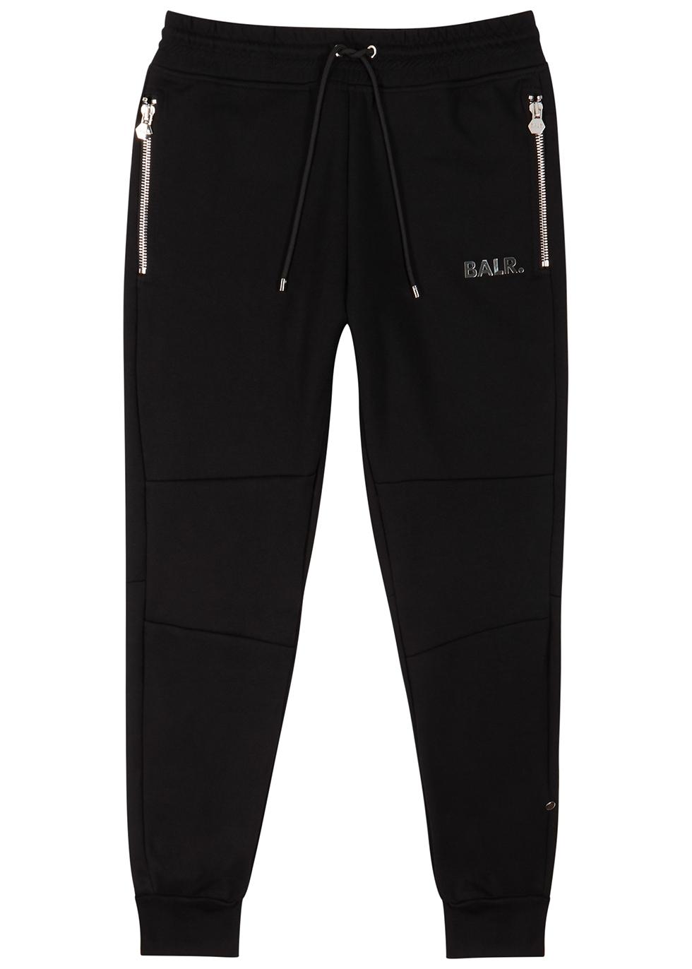 Q-Series black logo cotton-blend sweatpants