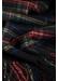 Classic tartan cashmere scarf | black stewart - Johnstons of Elgin