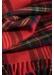 Classic tartan cashmere scarf   royal stewart - Johnstons of Elgin