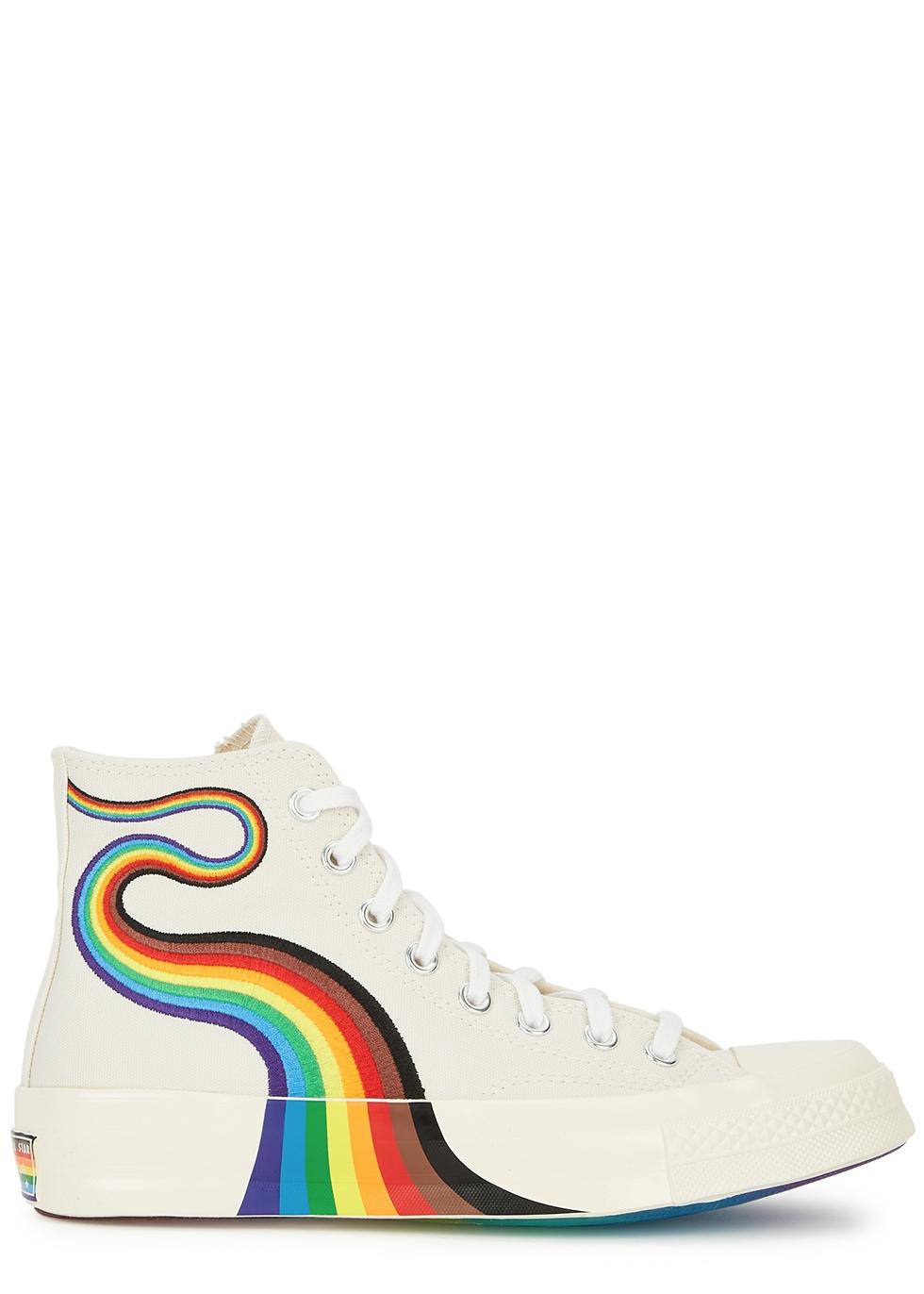 Chuck 70 Pride canvas hi-top sneakers
