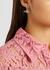 Mini Bas Relief silver-tone drop earrings - Vivienne Westwood