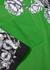 Green printed cotton shirt - Valentino