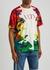 VLTN camouflage-print cotton T-shirt - Valentino