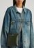 Victoria dark green leather cross-body bag - Vivienne Westwood