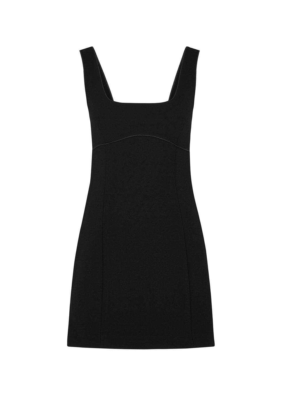 Deon black mini dress