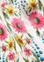 Wildflower printed silk sleepover set - YOLKE