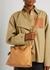 Flamenco small brown leather clutch - Loewe