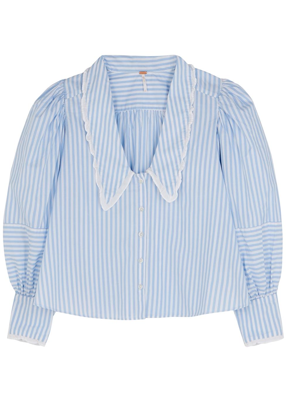 Bexley blue striped cotton shirt