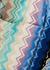 Giacomo zigzag cotton-terry robe - MISSONI HOME