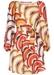 Lily geometric long sleeve mini dress - Traffic People