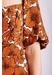 Floral dandy short sleeve jumpsuit in brown - Traffic People