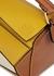 Puzzle mini panelled leather cross-body bag - Loewe