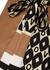Printed silk-twill blouse - Valentino