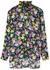 Floral-print satin blouse - Plan C