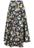 Floral-print cady midi skirt - Plan C
